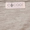 Merino Cocooi Swaddle & Hat Set - Honey (0-3 Months)