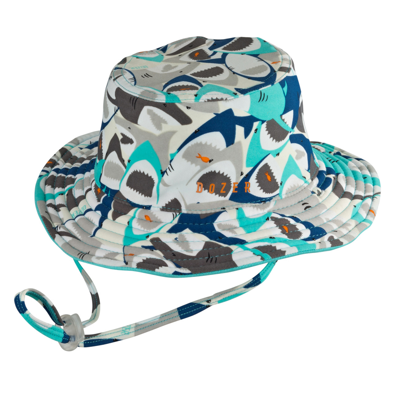 Dozer Baby Boys Bucket Hat - Chomp (LG) - Dear-Born Baby 861d8c2ba9a