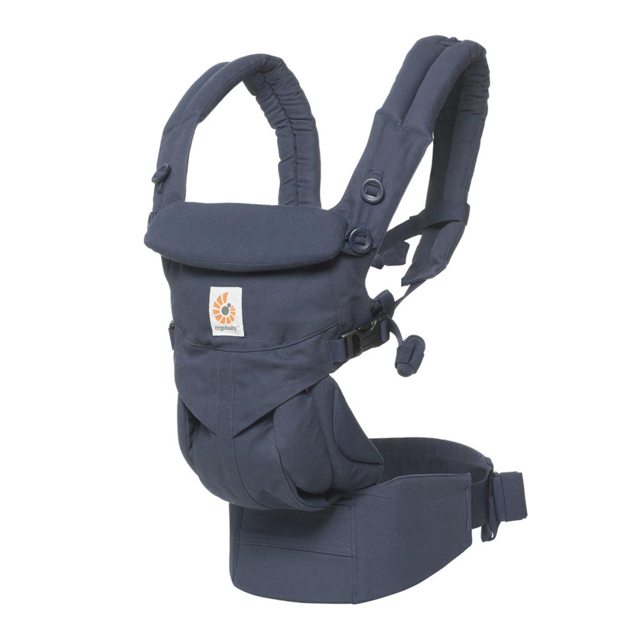 2ea3154afad Ergobaby Omni 360 Cool Air Mesh Baby Carrier - Midnight Blue - Dear-Born  Baby