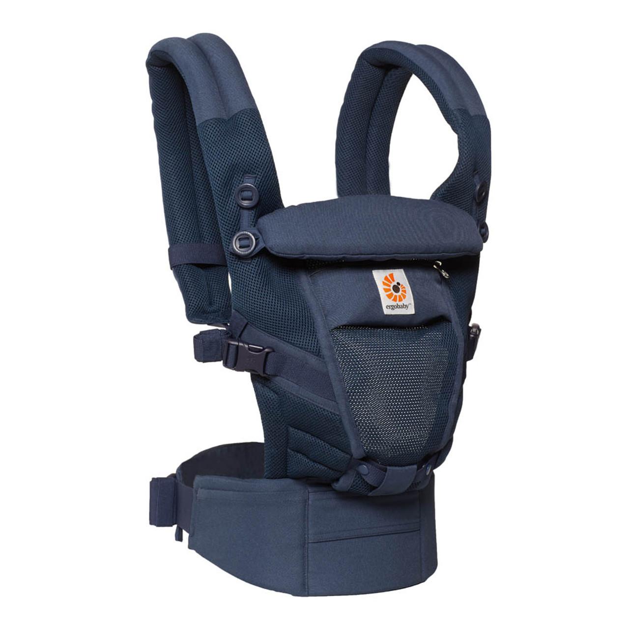 d657a3036b1 Ergobaby Adapt Cool Air Mesh Baby Carrier - Deep Blue - Dear-Born Baby