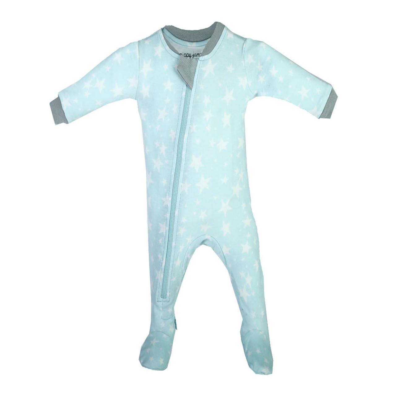a2366ac4b Zippy Jamz Organic Cotton Footed Sleeper - Slumber Star (3-6 Months ...