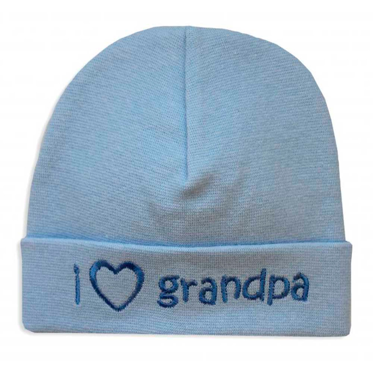 6b94f3cb199b Itty Bitty Baby Embroidered Toque - I Love Grandpa Blue (PR) - Dear ...