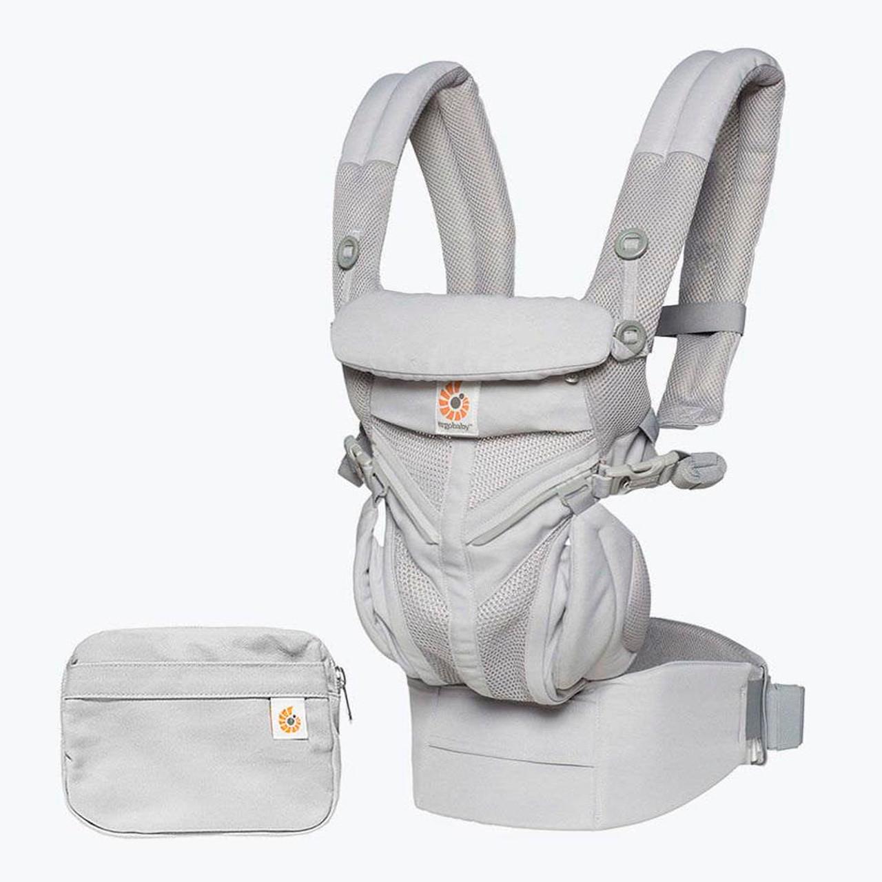26b67c7a56b Ergobaby Omni 360 Cool Air Mesh Baby Carrier - Pearl Grey - Dear-Born Baby