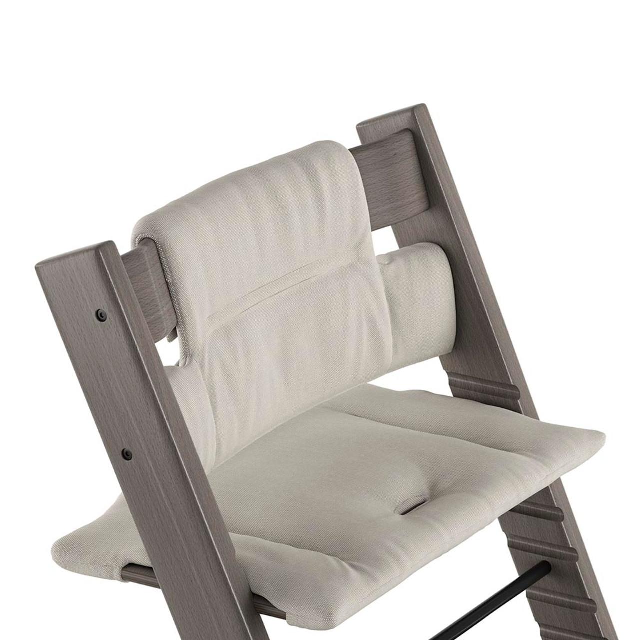 b204edeeb81 Stokke Tripp Trapp Organic Cotton Cushion - Timeless Grey - Dear ...