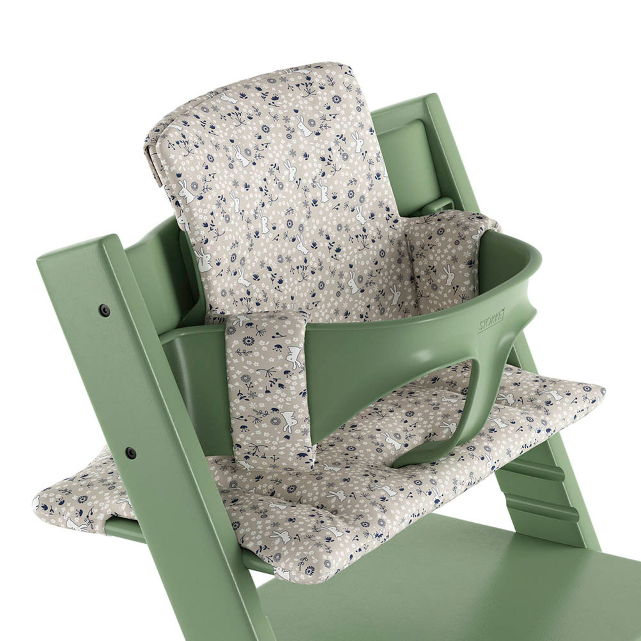 8b847e689cd Stokke Tripp Trapp Organic Cotton Cushion - Garden Bunny - Dear-Born ...