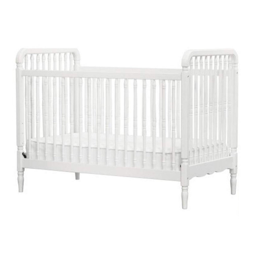 Million Dollar Baby Liberty 3-in-1 Convertible Crib with Toddler Bed Conversion Kit - White