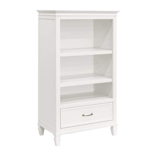 Million Dollar Baby Darlington Bookcase - White Warm