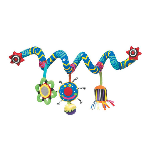 Manhattan Toy Company Whoozit Activity Spiral Stroller and Travel Activity Toy