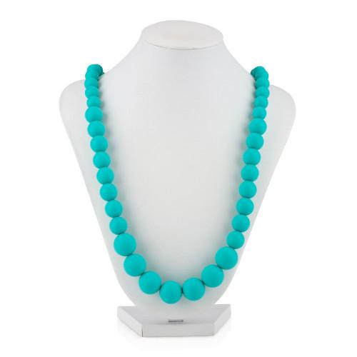 Nuby Beaded Teething Necklace - Turquoise