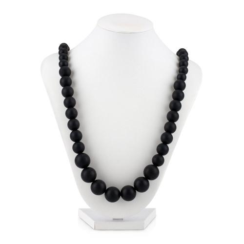 Nuby Beaded Teething Necklace - Black