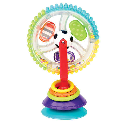 Sassy Wonder Wheel Sensory Toy