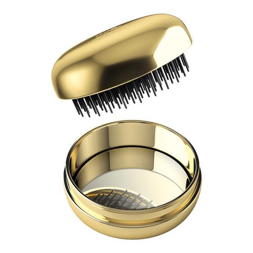 Milk & Sass Macaron Compact Hair Brush - Gold