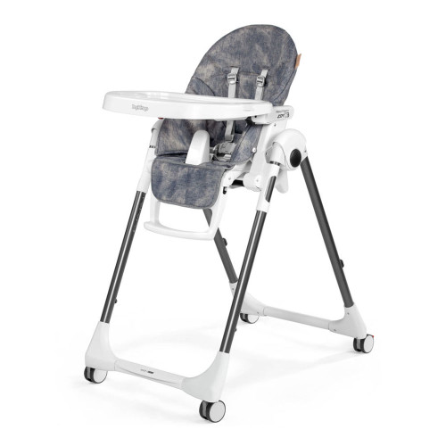 Peg Perego Prima Pappa Zero-3 High Chair - Denim