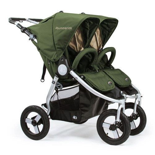 Bumbleride 2018/2019 Indie Twin Stroller - Green Camp