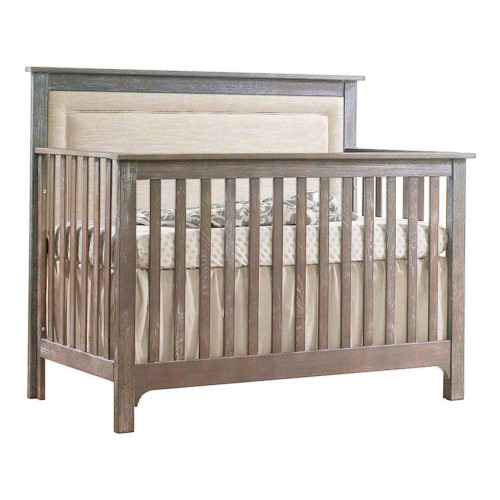 NEST Emerson 5-in-1 Convertible Crib - Sugar Cane with Talc Panel