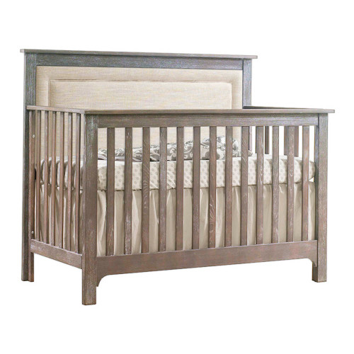 NEST Emerson 5-in-1 Convertible Crib - Owl with Talc Panel