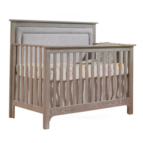 NEST Emerson 5-in-1 Convertible Crib - Sugar Cane with Fog Panel