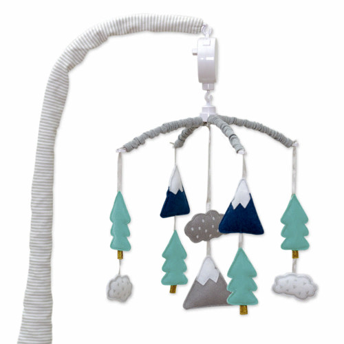 Lolli Living Peaks Collection Musical Mobile