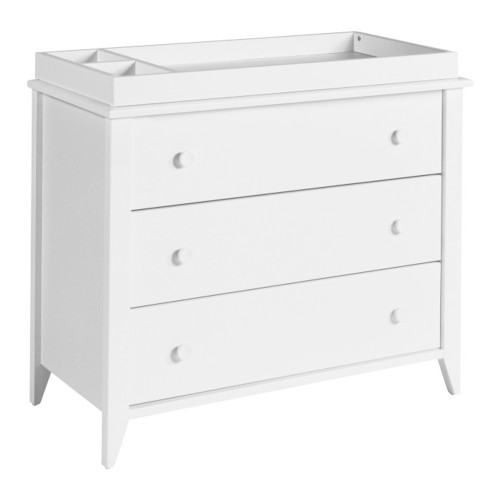 Babyletto Sprout 3-Drawer Changer Dresser - White
