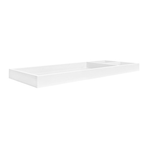 Million Dollar Baby Universal Wide Removable Changing Tray - Linen White