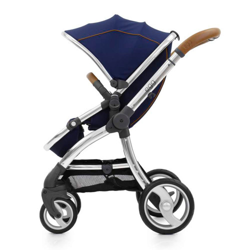 The egg Stroller - Regal Navy with Mirror Chassis