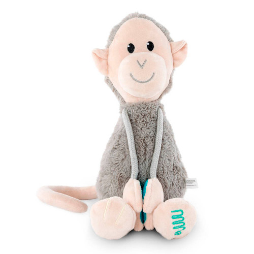 Matchstick Monkey Velcro Arms Plush Monkey Toy - Large