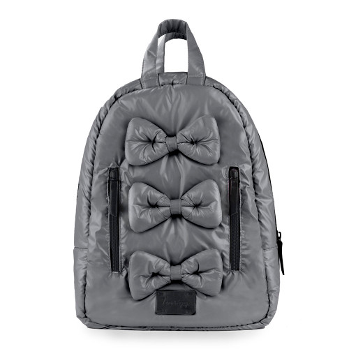 7 A.M. Voyage Mini Bows Backpack - Graphite