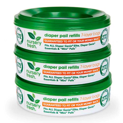 Munchkin Nursery Fresh Diaper Pail Refills - 3 Pack