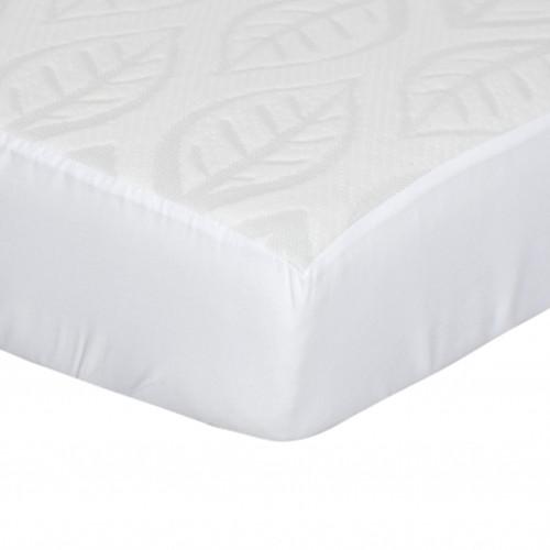 Kidicomfort Tencel Fitted Crib Mattress Cover - Leaf Design