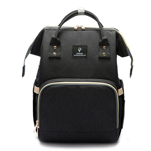 Dear-Born Diaper Bag Backpack with USB Charging Port - Black