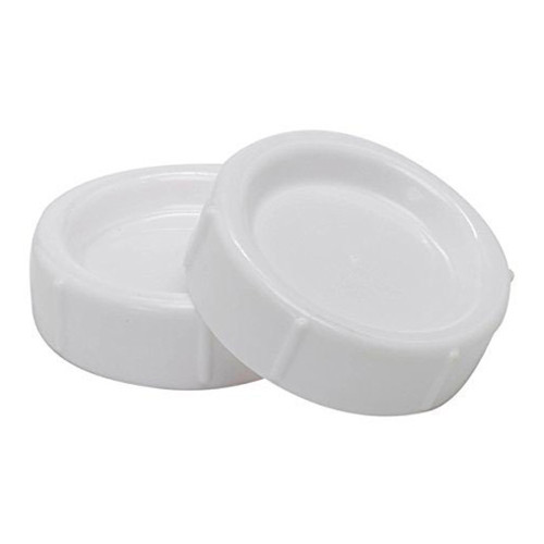 Dr Brown's Natural Flow Wide Neck Storage Travel Caps Replacement 2-Pack