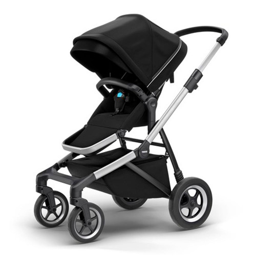 Thule Sleek Single Stroller - Midnight Black