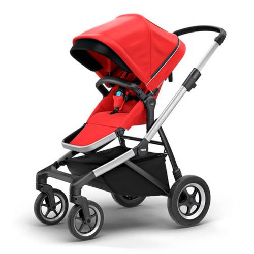 Thule Sleek Single Stroller - Energy Red