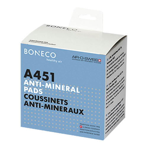 Boneco Anti-Mineral A451 Pads for Steam Humidifiers