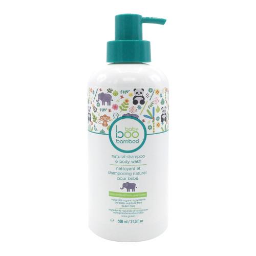 Baby Boo Bamboo Unscented Baby Shampoo & Wash - 600ml