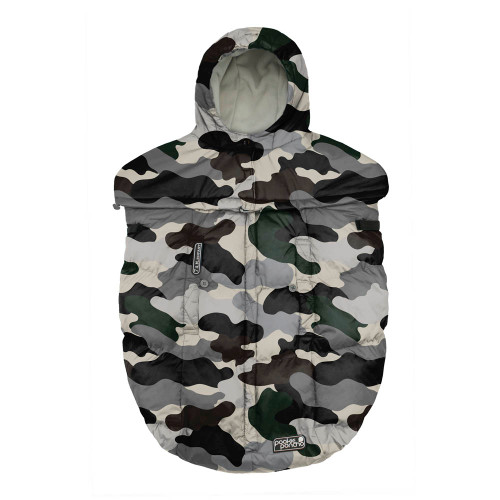 7 A.M. Pookie Poncho - Camo Forest