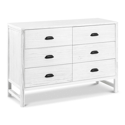 DaVinci Fairway 6-Drawer Double Dresser - Cottage White