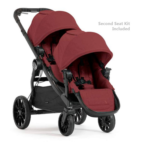 Baby Jogger City Select LUX Stroller & Second Seat Combo - Port
