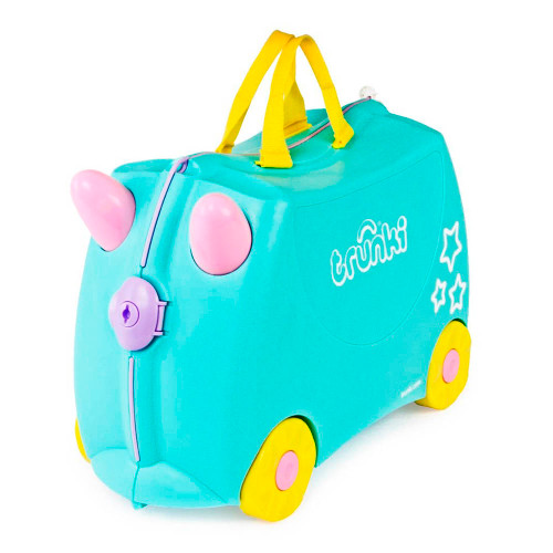 Trunki Ride On Suitcase - Una The Unicorn