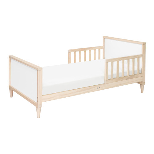 Babyletto Ziggy Toddler Bed - Washed Natural and White