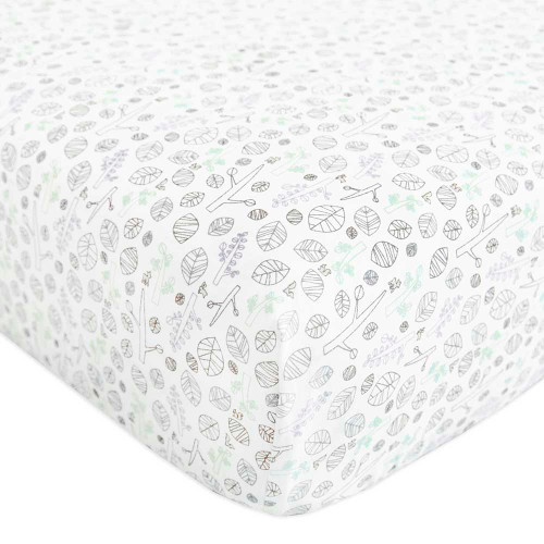 Babyletto Fitted Crib Sheet - Tranquil Woods