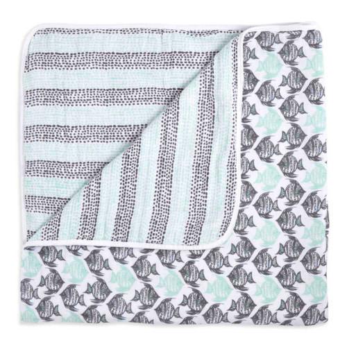 Aden + Anais White Label Classic Dream Blanket - Seaside
