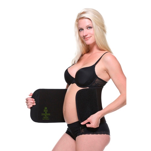 Belly Bandit Bamboo Belly Wrap - Black (XS)