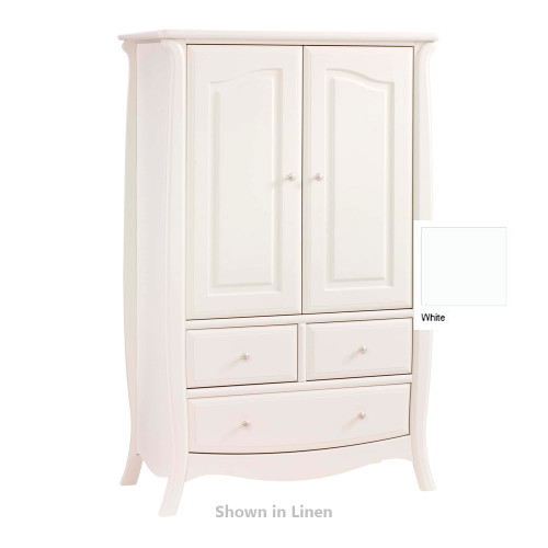 Natart Bella Armoire - White