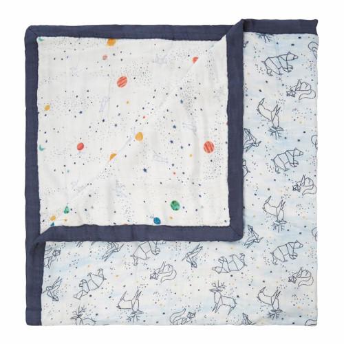 Aden + Anais Silky Soft Bamboo Dream Blanket - Stargaze