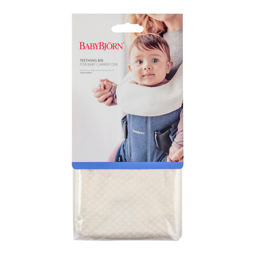 d71de16a50f ... BabyBjorn Teething Bib for Baby Carrier Miracle