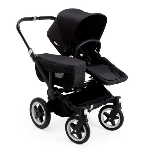 Bugaboo Donkey2 Mono Complete Stroller - Black with Black Frame