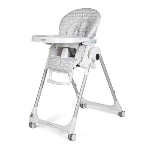 Peg Perego Prima Pappa Zero-3 High Chair - Linear Grey