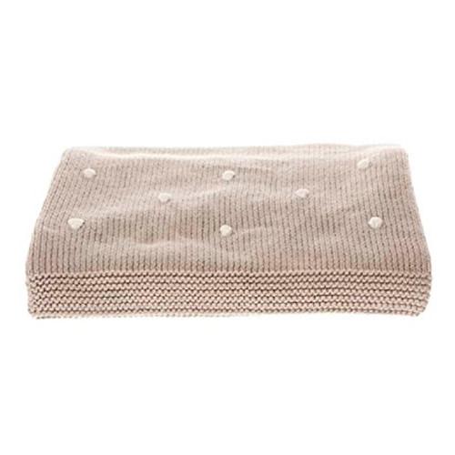 Honest Company Organic Cotton Knit Blanket - Knots