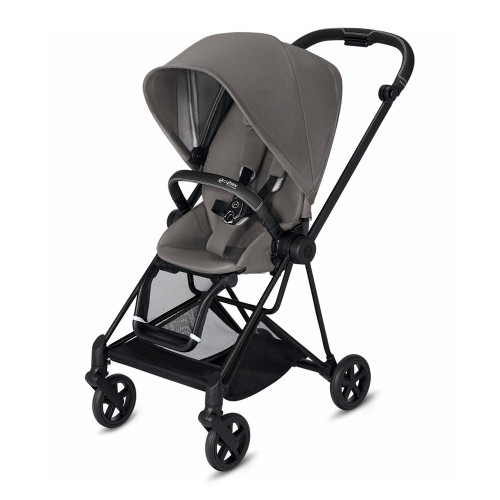 Cybex MIOS Complete Stroller - Manhattan Grey with Matte Black Frame
